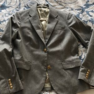 J. Crew gray wool blazer